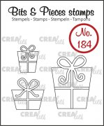 Clear Stamps Crealies - Bits & Pieces - Presents