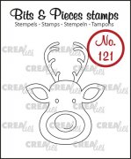 Clear Stamps Crealies - Bits & Pieces - Raindeer