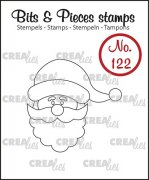 Clear Stamps Crealies - Bits & Pieces - Santa Claus