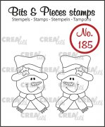 Clear Stamps Crealies - Bits & Pieces - Snowman