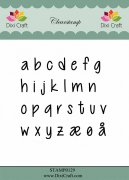 Clear Stamps Dixi Craft - Alphabet Lower Case