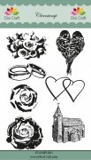 Clear Stamps Dixi Craft - Wedding