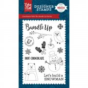 A Perfect Winter - Clearstamps Echo Park - Bundle Up