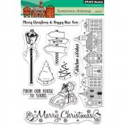 Clearstamp Set - Penny Black - Hometown Christmas