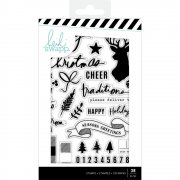 Clearstamps Heidi Swapp - Winter Wonderland Words & Icons