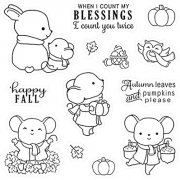 Clearstamps LDRS Creative -  Happy Fall