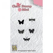 Clearstamps Mini - Nellie Snellen - Butterflies