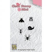 Clearstamps Mini - Nellie Snellen - Critters