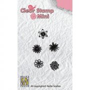 Clearstamps Mini - Nellie Snellen - Flowers