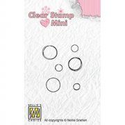 Clearstamps Mini Nellie Snellen - Bubbles