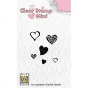 Clearstamps Mini Nellie Snellen - Hearts