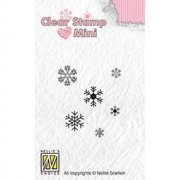 Clearstamps Mini Nellie Snellen - Snowflakes