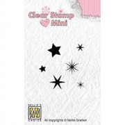 Clearstamps Mini Nellie Snellen - Stars
