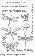 Clear stamps My Favorite Things - Fluttering Friends