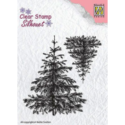 Clearstamps Nellie Snellen - Christmas fir-tree