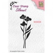 Clear Stamps Nellie Snellen - Daisies