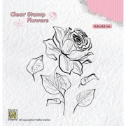 Clear Stamps Nellie Snellen - Rose