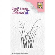 Clearstamps Nellie Snellen - Silhouett Blooming Grass