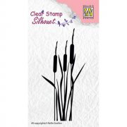 Clearstamps Nellie Snellen - Silhouett Bullrushes