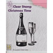 Clearstamps Nellie Snellen - Silhouett Happy New Year