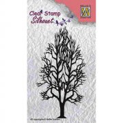 Clearstamps Nellie Snellen - Silhouett Tree