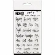 Clear Stamps Ranger - Dylusions Dyalog - Blind Date