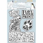 Cling Stamps Stamperia - Arctic Antarctic - Leave Your Print