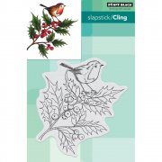 Cling Stamp Penny Black - Cheerful Christmas