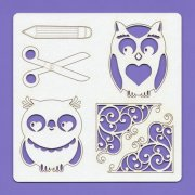 Chipboard Elements - Kids 005 -  148 x 148 mm