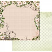 Papper Couture Creations - Vintage Rose Garden - Time