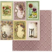 Papper Couture Creations - Vintage Rose Garden - Pansy Journaling
