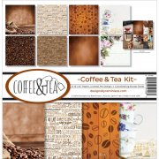 Paper Kit 12x12 - Reminisce - Coffee & Tea