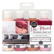 Color Pour - Pouring Paint kit - Amber