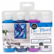 Color Pour  - Pouring Paint kit - Galaxy - 475 ml