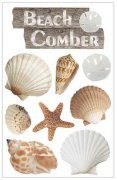 3D Stickers - Beach Comber - Paper House