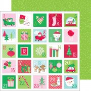 Papper Doodlebug - Here Comes Santa Claus - Christmas Countdown