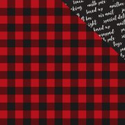 Papper Carta Bella - Christmas Delivery - Cozy Plaid