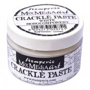 Crackle Paste Stamperia - White