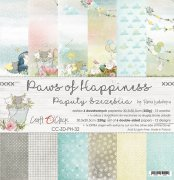 Paper Pack Craft o Clock - Paws of Happiness