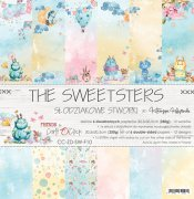 Paper Pad Craft o Clock - The Sweetsters - 12x12 Tum