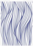 Crafter's Companion 2D Embossing Folder - Nautical Ocean Waves