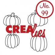 Clearstamp Crealies - Bits & Pieces - no.99 - Pumpkins