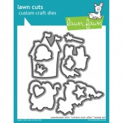 Lawn Fawn Cuts Custom Craft Die - Critters Ever After - Sagoväsen