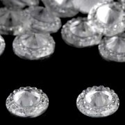 Rhinestones Crystal Flower Center - 10 st