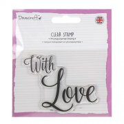 Dovecraft Clear Stamp - With Love