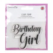 Dovecraft Clear Stamp - Birthday Girl