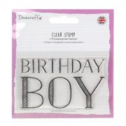 Dovecraft Clear Stamp - Birthday Boy