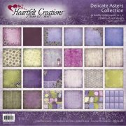 Paper Pad 12x12 - Heartfelt Creations - Delicate Asters