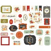 Die Cuts Carta Bella - Hello Autumn - 33 st