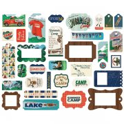 Die Cuts Carta Bella - Summer Camp - Frames & Tags